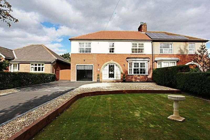 4 Bedrooms Semi Detached House for sale in Bigby High Road, Brigg
