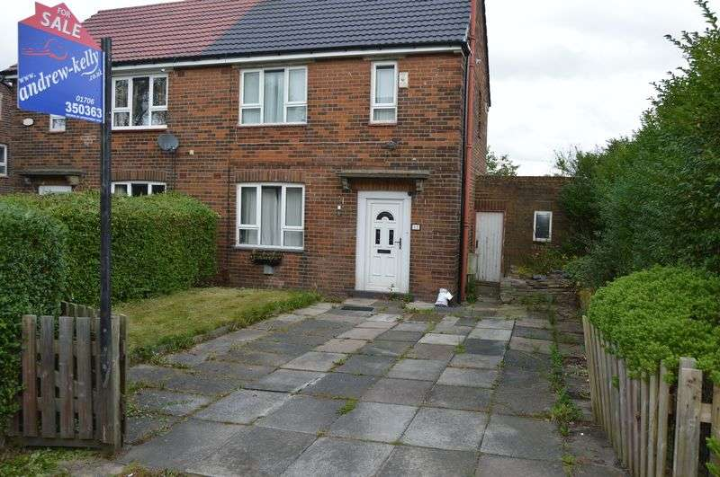 2 Bedrooms Semi Detached House for sale in Arkwright Way, Rochdale