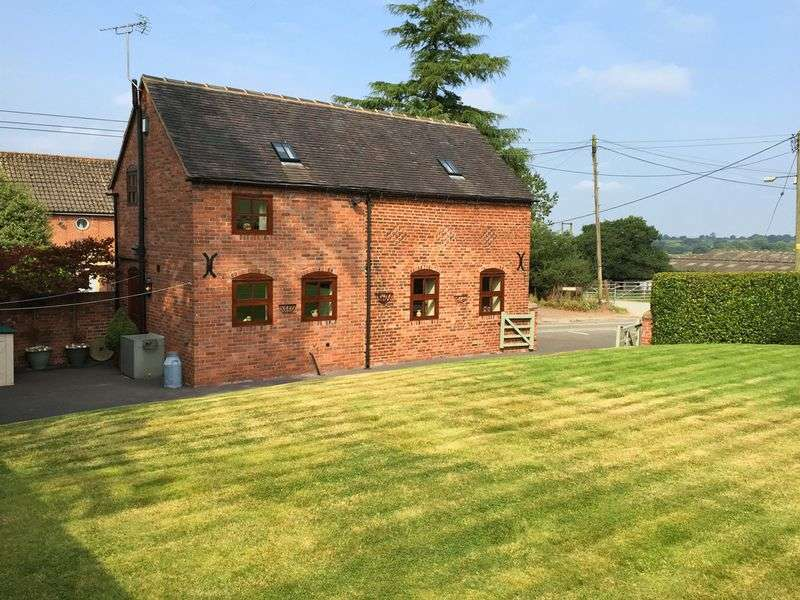 2 Bedrooms Detached House for sale in Moddershall, Stone, Staffordshire