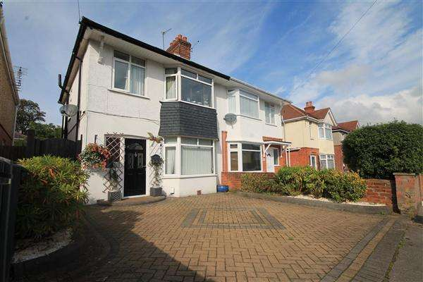4 Bedrooms Semi Detached House for sale in Farcroft Road, Parkstone, Poole