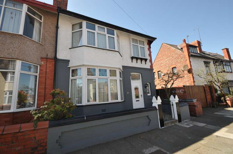 4 Bedrooms House for sale in Glebe Road, Wallasey