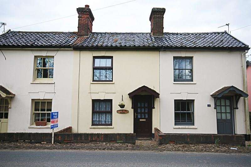 2 Bedrooms Cottage House for sale in Chickering Hall Road, Wingfield, Diss