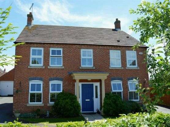 4 Bedrooms Detached House for sale in Bancroft Close, Wootton, Northampton NN4 6BN