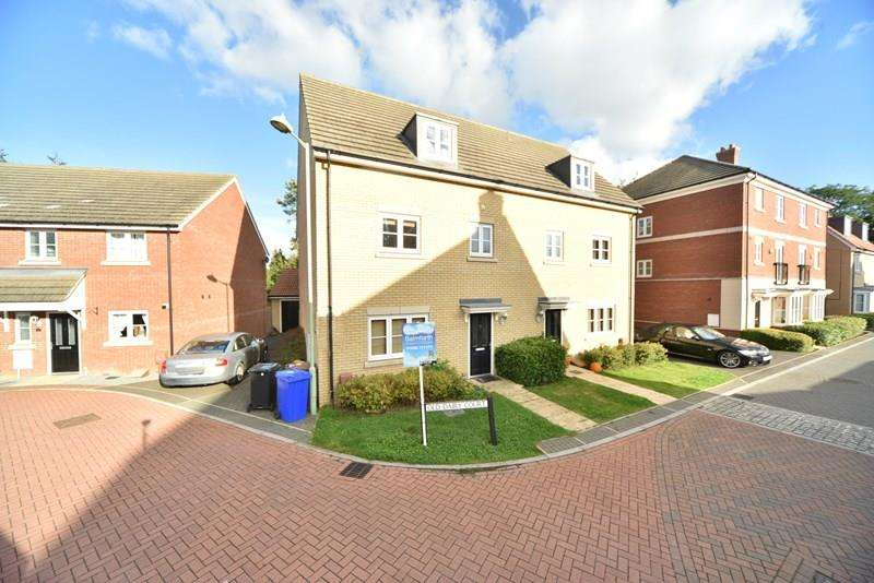 4 Bedrooms Semi Detached House for sale in Old Dairy Court, Mildenhall, Bury St. Edmunds