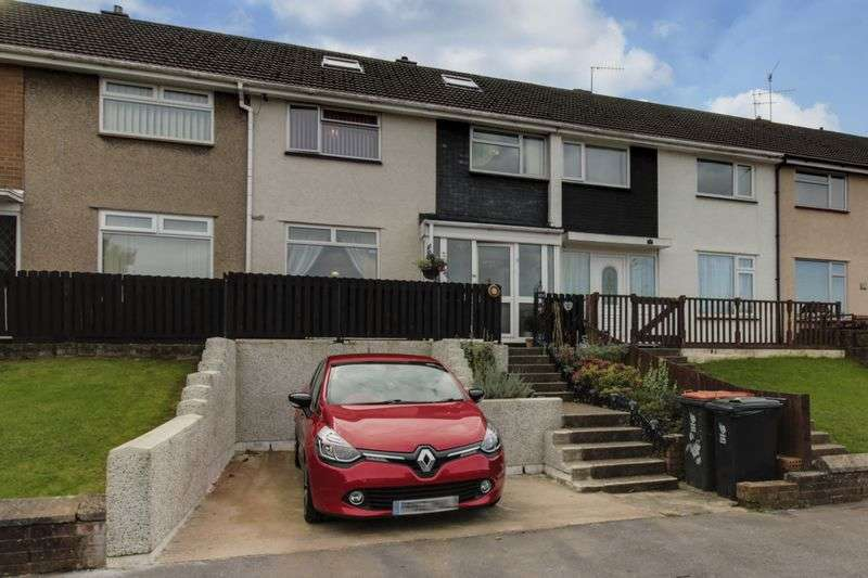 3 Bedrooms Terraced House for sale in Lea Close, Newport