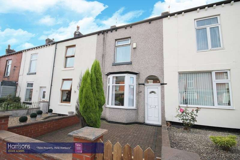 2 Bedrooms Terraced House for sale in St Helens Road, Middle Hulton, Bolton, Lancashire.