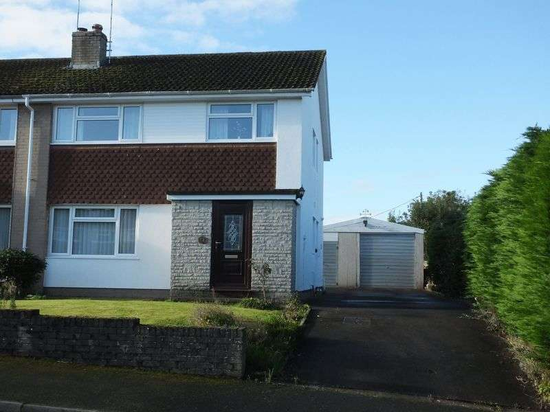 4 Bedrooms Semi Detached House for sale in Beaufort Gardens, Usk