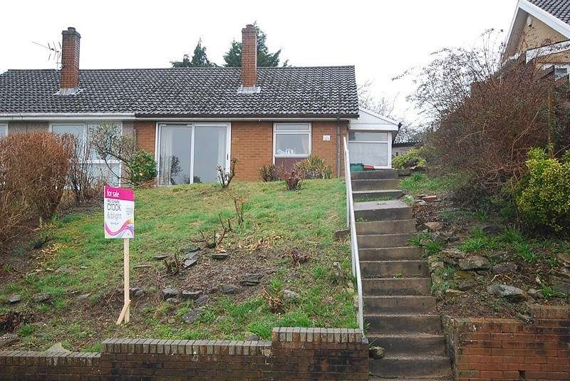 2 Bedrooms Semi Detached Bungalow for sale in Aberthaw Circle, Newport