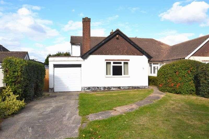 3 Bedrooms Semi Detached Bungalow for sale in Blackbrook Lane, Bickley,Bromley