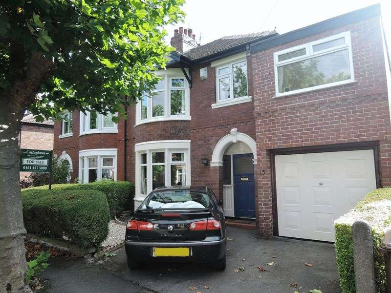 4 Bedrooms Semi Detached House for sale in Wythens Road, Heald Green