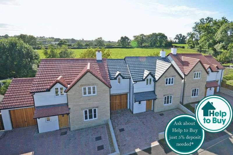 4 Bedrooms Detached House for sale in New Development, Quab Lane, Wedmore, BS28 4AS