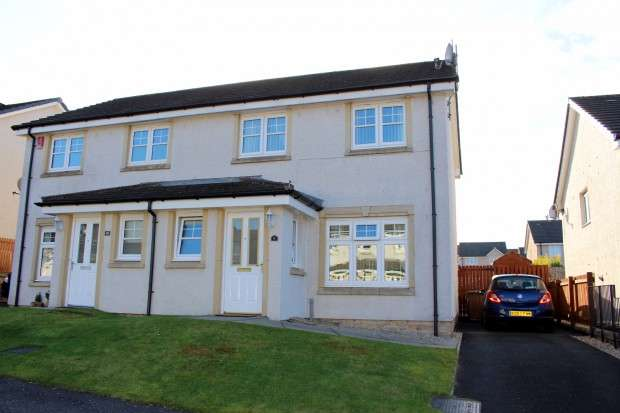 3 Bedrooms Semi Detached House for sale in Blairadam Crescent, Kelty, KY4