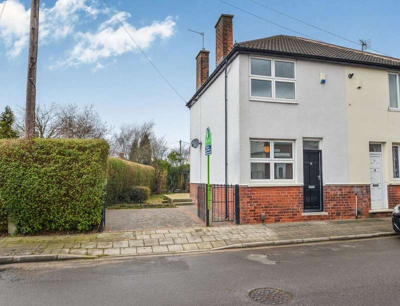2 Bedrooms Semi Detached House for sale in Percy Street, Sutton-In-Ashfield, NG17