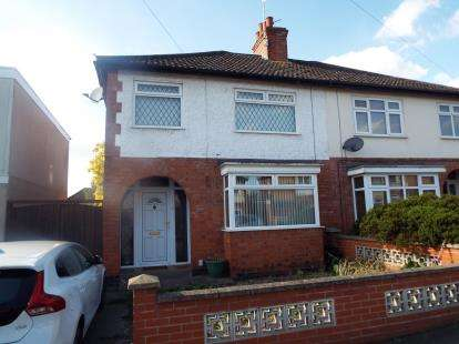 3 Bedrooms Semi Detached House for sale in Gwendolin Avenue, Birstall, Leicester, Leicestershire