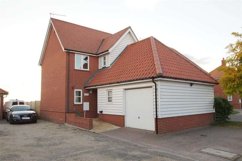 4 Bedrooms Detached House for sale in Old School House, Old School Close, Spring Road, St. Osyth, Clacton-on-Sea