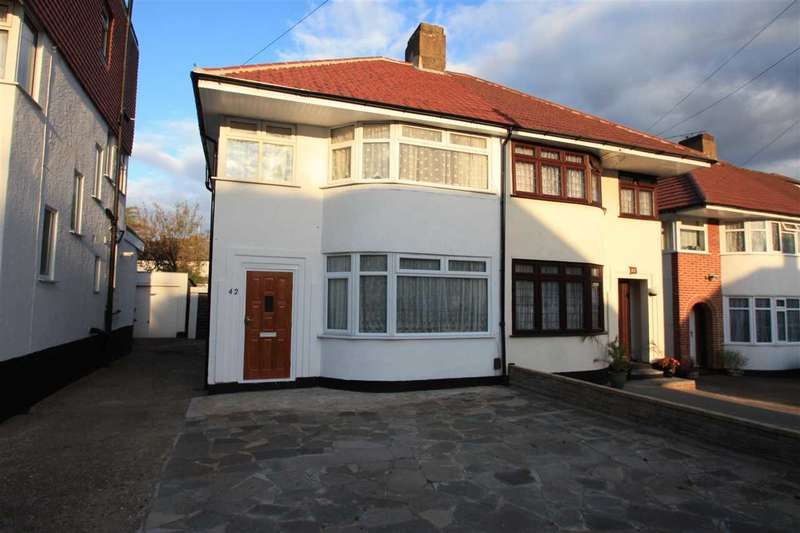 3 Bedrooms Semi Detached House for sale in Mountbell Road, STANMORE
