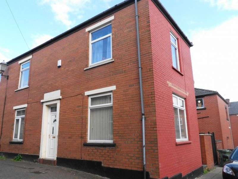 3 Bedrooms End Of Terrace House for sale in Hendriff Place, Rochdale, Greater Manchester. OL12