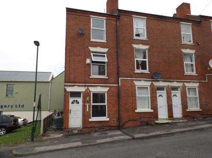 3 Bedrooms End Of Terrace House for sale in Denman Street, Radford, Nottingham, Nottinghamshire