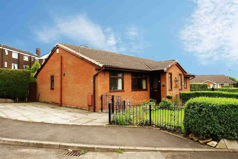 2 Bedrooms Semi Detached Bungalow for sale in 17 Monarch Close, Royton