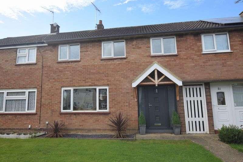 3 Bedrooms Terraced House for sale in Caernarvon Crescent, Bletchley, Milton Keynes