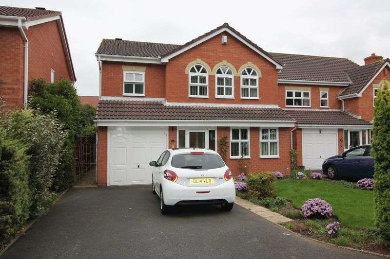 4 Bedrooms Detached House for sale in Rembrandt Drive, Shawbirch, Telford