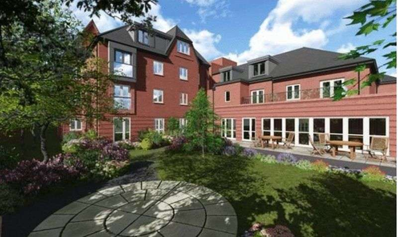 1 Bedroom Flat for sale in Oakfield Court Crofts Bank Road, Urmston,Manchester: NO CHAIN one bed first floor retirement apartment