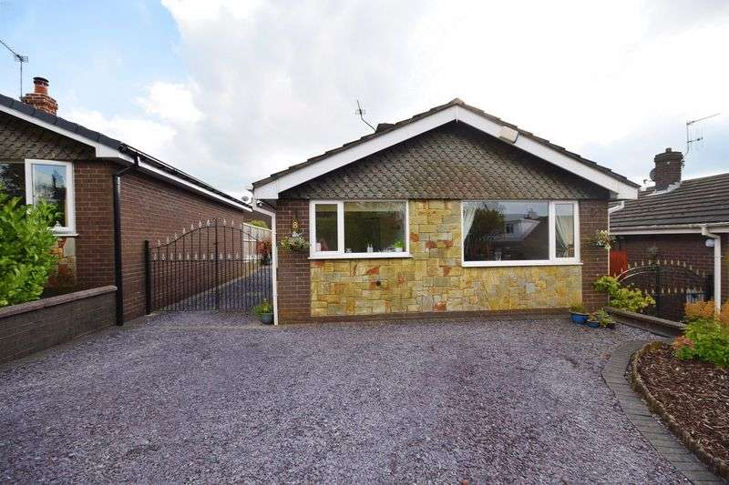 2 Bedrooms Detached Bungalow for sale in Farmside Lane, Biddulph Moor