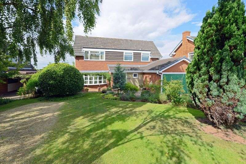 4 Bedrooms Detached House for sale in Stretton Close, Sutton Heights, Telford, Shropshire.