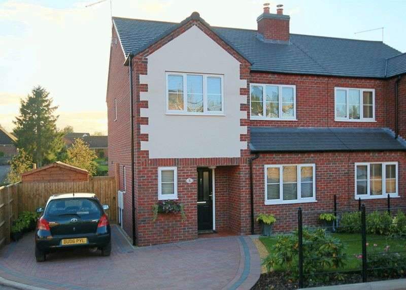 3 Bedrooms Semi Detached House for sale in Hillcrest, Newcastle Road, Market Drayton