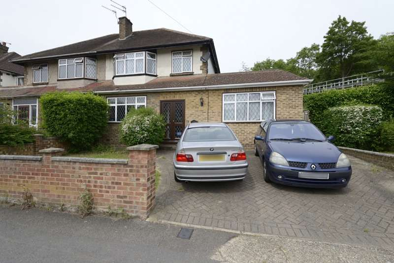 4 Bedrooms Semi Detached House for sale in North Way, Uxbridge, Middlesex, UB10