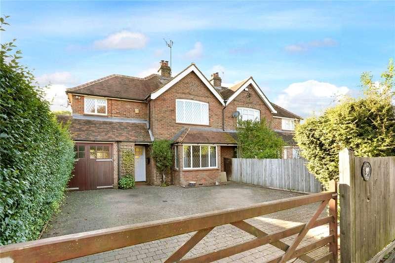 3 Bedrooms Semi Detached House for sale in Nairdwood Lane, Prestwood, Great Missenden, Buckinghamshire, HP16