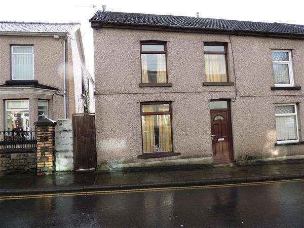 3 Bedrooms End Of Terrace House for sale in Brithweunydd Road, Trealaw