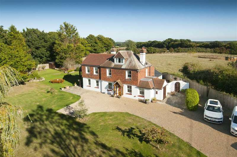 4 Bedrooms Country House Character Property for sale in Kennels Cottage, Maltmans Hill, Smarden