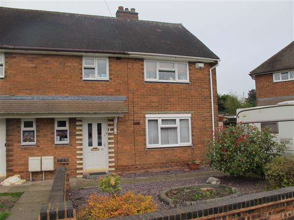3 Bedrooms Semi Detached House for sale in Grenfell Rd, Little Bloxwich, Walsall
