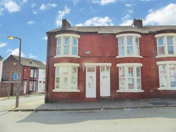 2 Bedrooms End Of Terrace House for sale in Wheatland Lane, Wallasey, Merseyside