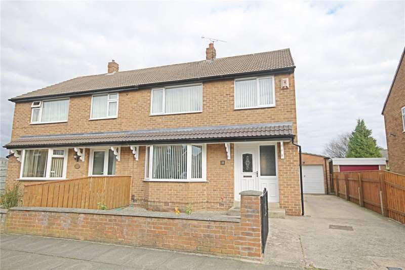 3 Bedrooms Semi Detached House for sale in Kirkfield Road, Darlington, County Durham, DL3