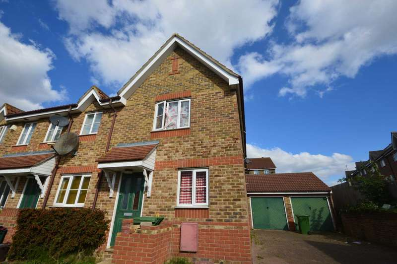 2 Bedrooms End Of Terrace House for sale in St Georges Close, Thamesmead