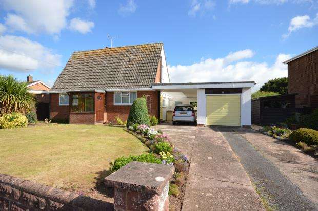 3 Bedrooms Detached Bungalow for sale in Chapel Road, Exeter, Devon