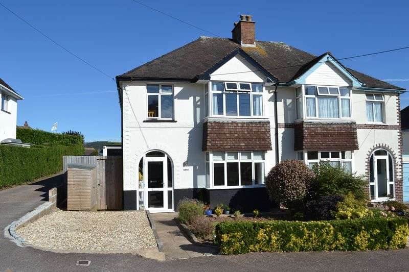 3 Bedrooms Semi Detached House for sale in Malvern Road, Sidmouth
