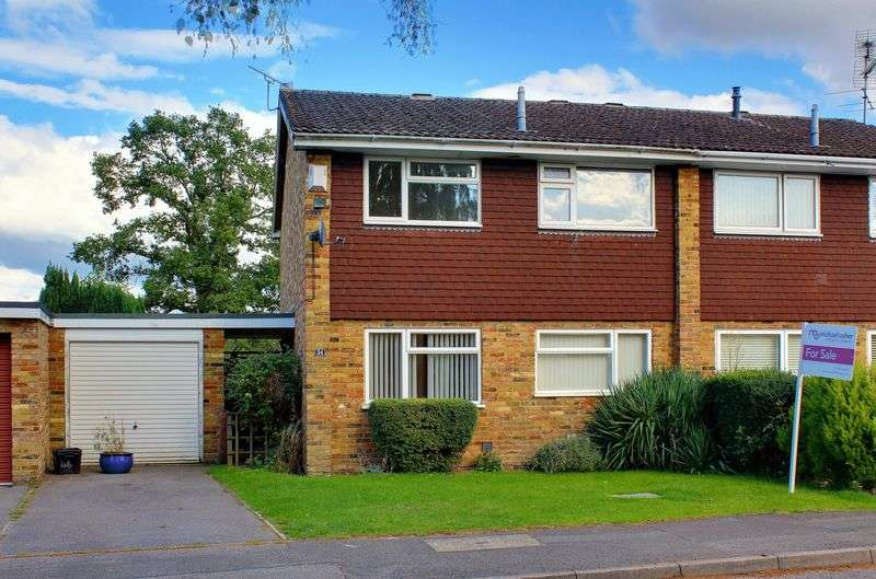 3 Bedrooms Semi Detached House for sale in Jerrymoor Hill, Finchampstead