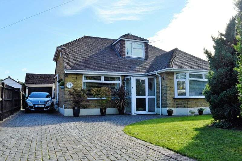 3 Bedrooms Detached Bungalow for sale in Mengham Avenue, Hayling Island