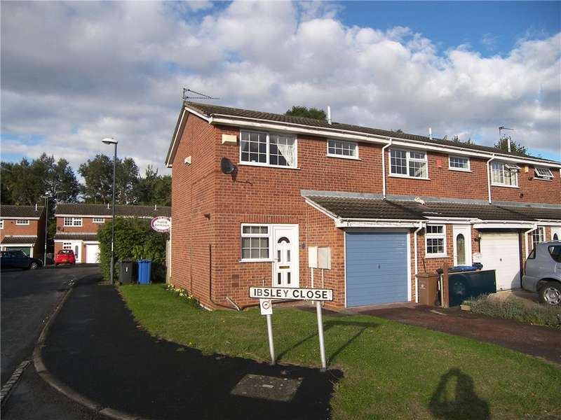 2 Bedrooms End Of Terrace House for sale in Ibsley Close, Alvaston, Derby, Derbyshire, DE24