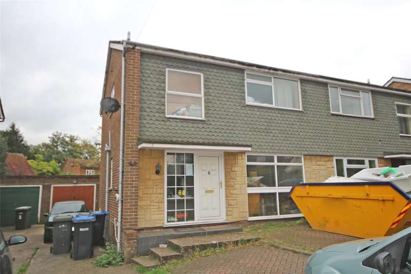 3 Bedrooms Semi Detached House for sale in High Tree Close, Addlestone, Surrey, KT15