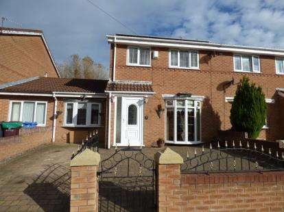 3 Bedrooms Semi Detached House for sale in William Roberts Avenue, Kirkby, Liverpool, Merseyside, L32