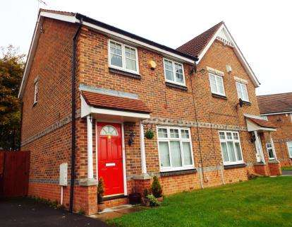 3 Bedrooms Semi Detached House for sale in Doddfell Close, Washington, Tyne and Wear, United Kingdom, NE37
