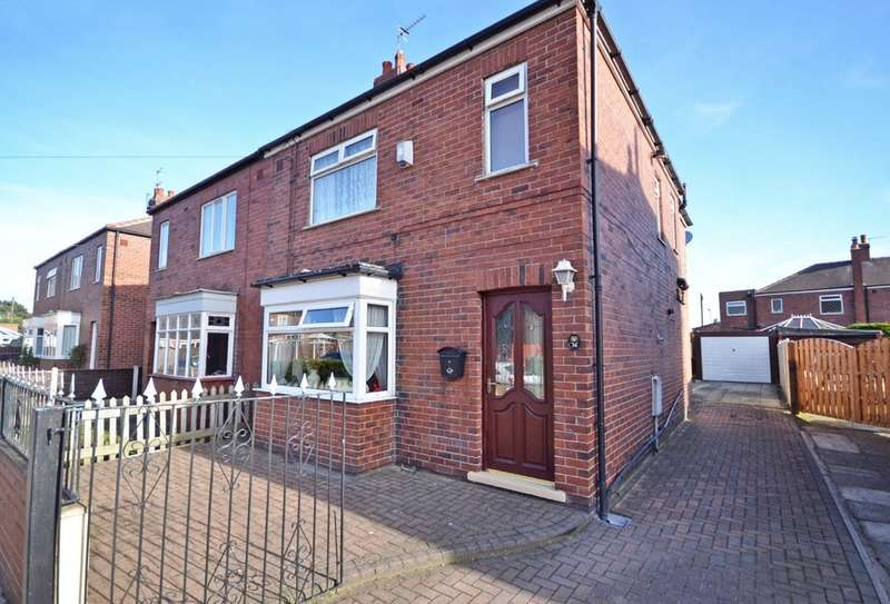 4 Bedrooms Semi Detached House for sale in Major Street, Thornes, Wakefield
