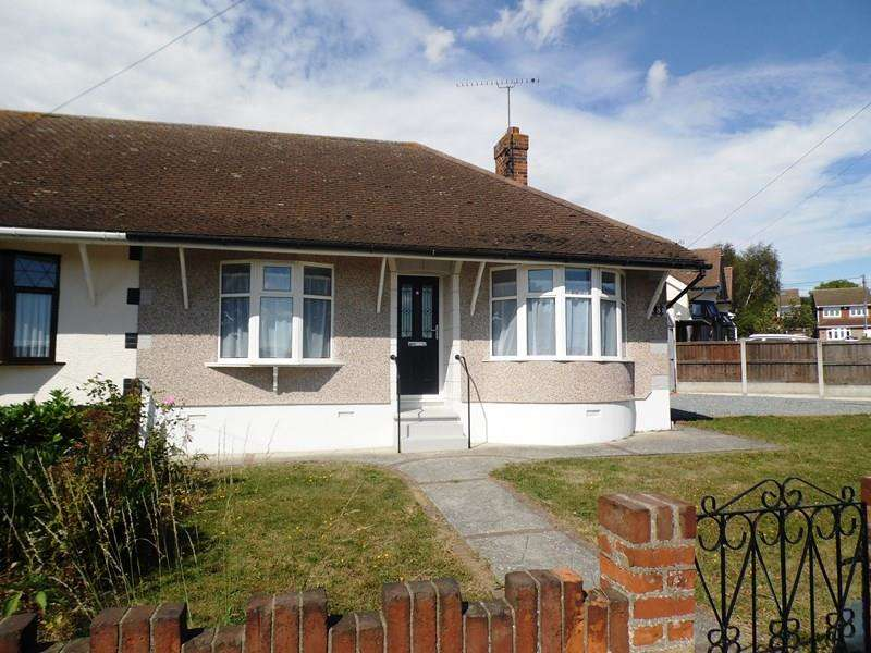 2 Bedrooms Semi Detached Bungalow for sale in Watlington Road, Benfleet