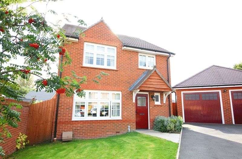 4 Bedrooms Detached House for sale in Leyfield Way, Roby, Liverpool, L14