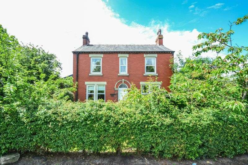 3 Bedrooms Detached House for sale in Victorian Detached - Station Road, Little Hoole, Preston