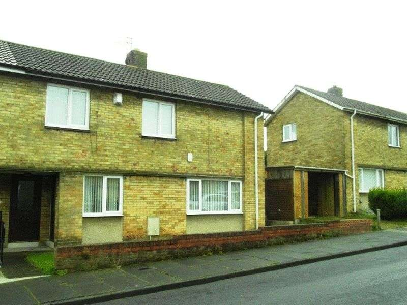 3 Bedrooms Semi Detached House for sale in Shadfen Crescent, Pegswood - Three Bedroom Semi Detached House